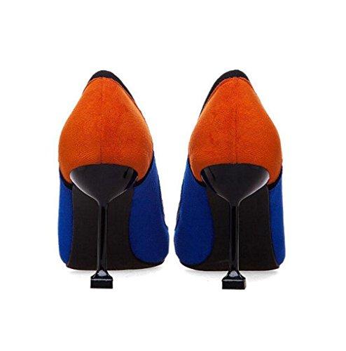 De Paillettes Femmes Hauts Wsk Filles Pour Party Mariage Talons Blue Aiguilles Shoes Diamants Chaussures Princess À qqB0xwtP