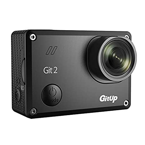 Cámara de acción Gitup Git2 2K, wifi, versión Pro (negra) y batería adicional
