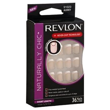 Amazon.com: Revlon Naturally Chic Nails, Short Length, Audrey 91023 ...