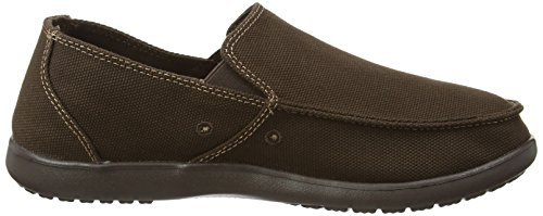 Crocs Mens Santa Cruz Clean Cut Loafer Espresso/Espresso O8b9Ud