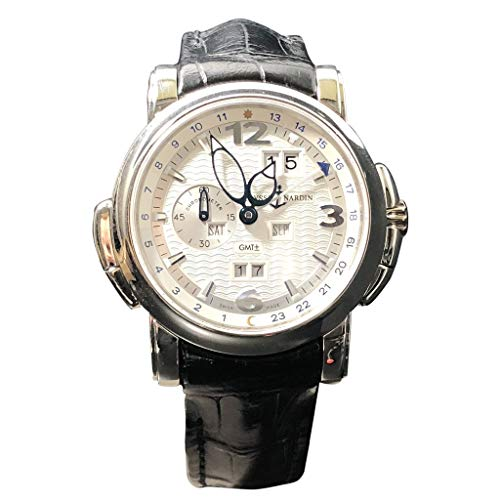 Ulysse Nardin GMT +/- Perpetual 18KT White Gold 320-60-Certified Pre-Owned
