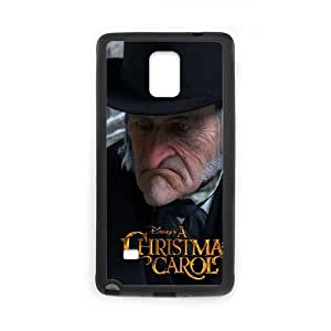 Christmas Carol Samsung Galaxy Note 4 Cell Phone Case Black