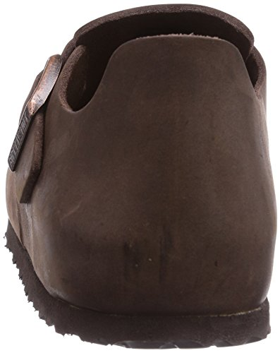 Birkenstock Womens London Oiled Leather Clogs Narrow Habana 2V8HckzOhZ
