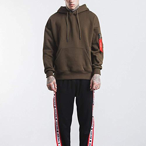 Cime Sport Outwear Uomo Confortevoli Piumino Con Ntel Schwarz Casuale Leggero Misura Abbigliamento Inverno Caldo Corto Cappuccio 0IPvn1q