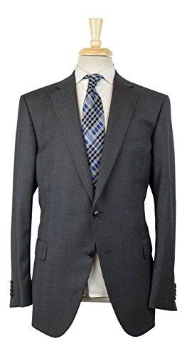 Portly Gray Wool 2 Button Sport Coat Size 54/44 reg Drop 4 (Portly 2 Button Jacket)