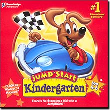 Brand New Knowledge Adventure Jumpstart Kindergarten With Multi-Level Play Capabilities