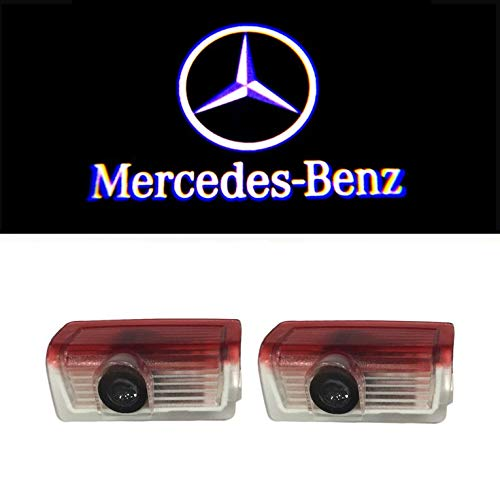 YTYC 2pcs LED Welcome Light Car Door Light Projecting Lamp Mercedes-Benz