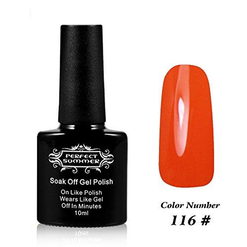 Perfect Summer UV LED Soak off Gel Nail Polish Lacquer Frenc