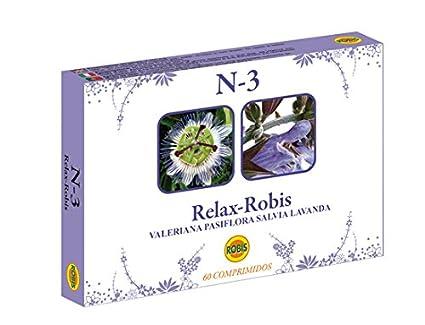 Robis Relax N-3 Complemento Alimenticio Natural - 60 Cápsulas