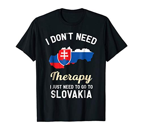 Slovak Slovakia Flag T-Shirt Gift for -