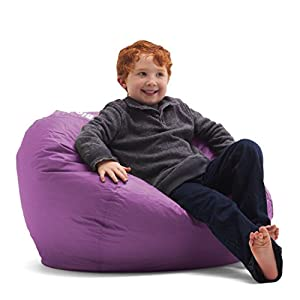 Big Joe Bean Bag, 98-Inch, Radiant Orchid