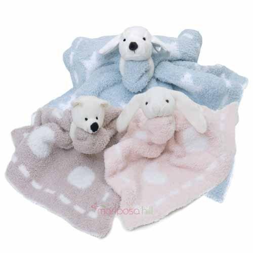 Barefoot Dreams Cozychic Dream Mini Blanket with Buddie