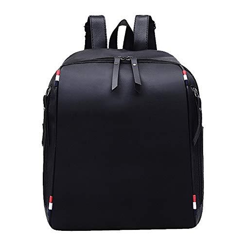 Nylon à Tout Sacs Mode fourre Zippers Sacs AalarDom Femme Noir bandoulière Noir TSFBG213615 wnYqF8ta