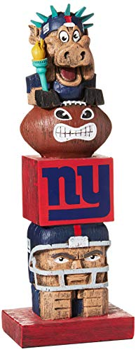 Team Sports America NFL New York Giants Tiki Totem -
