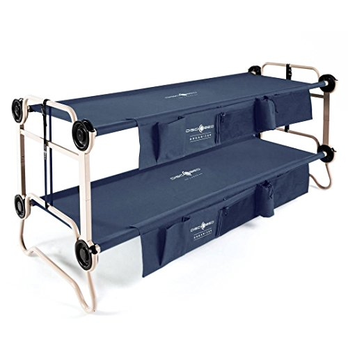 Disc-O-Bed Large Cam-O-Bunk Cot with Organizers