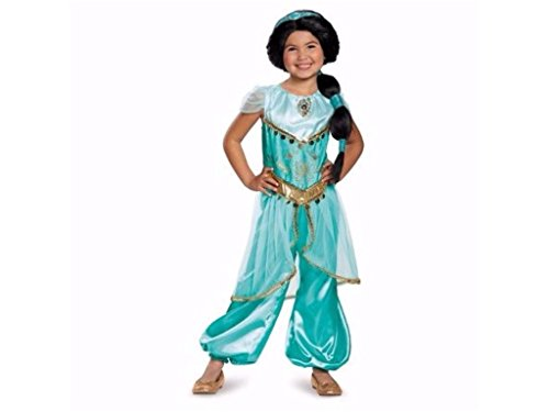 Girls Princess Jasmine Halloween Costume Size XS Extra Small 3T-4T -