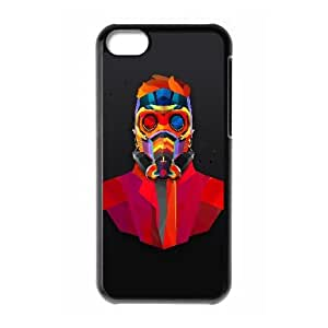 iPhone 5c Cell Phone Case Black am07 dark man art colorful armor 1 F4F7EJ