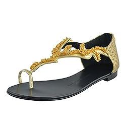 One Toe Flat Sandal Shoes