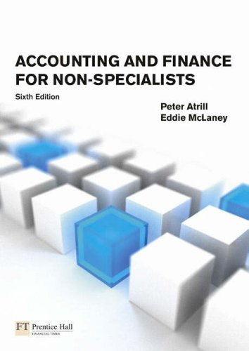 (Accounting and Finance for Non-Specialists: Plus MyAccountingLab XL Student Access Card)