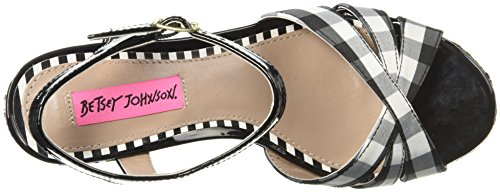 Johnson Women's Wedge Traci Betsey Multi Sandal Black 6S7pwTpOqC