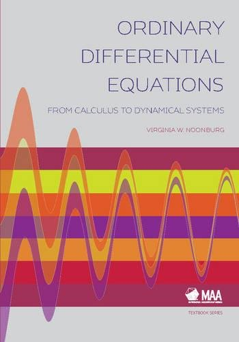 Ordinary Differential Equations (Mathematical Association of America Textbooks)