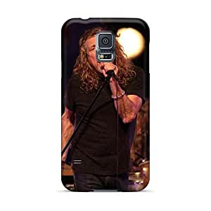 MansourMurray Samsung Galaxy S5 Shockproof Hard Cell-phone Case Unique Design Fashion Led Zeppelin Band Pattern [XLy11102widF]