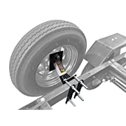 MaxxHaul Powder Coat Black 70214 Trailer Spare Tire Carrier