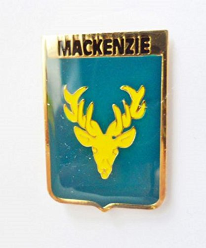 MacKenzie Surname Scottish Clan Name Coat of Arms Pin -