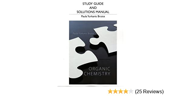 Amazon study guide and students solutions manual for organic amazon study guide and students solutions manual for organic chemistry 9780321826596 paula yurkanis bruice books fandeluxe Images