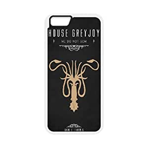 Generic Game Of Thrones TPU Cell Phone Cover Case for iPhone 6 Plus,6s 5.5 Inch AS1W9949266-Send tempered glass screen protector
