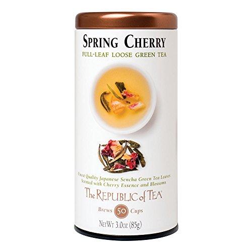 The Republic of Tea Spring Cherry, 3.0 Ounces / 50-60 Cups