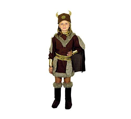 Disfraz de Vikinga 7-9 años para niña: Amazon.es: Ropa y ...