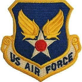 USAF, US AIR Force. - Embroidered Patches, Premium Quality Iron On Patch - ()
