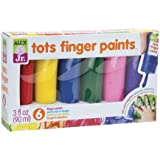 ALEX Toys ALEX Jr. 6 Tots Finger Paints