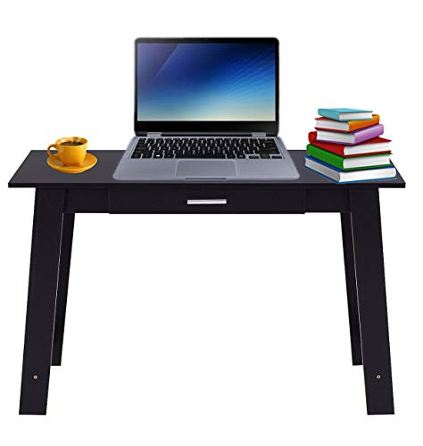 (Desk Table U Shape Home Office Furniture Workstation Computer Laptop Stand Drawer Stationary Studyroom Counter Worktable Writing Table Book Vase Side Table Living Room Size 43.5