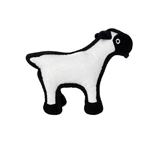 - TUFFY Junior Barnyard Sheep, Durable Dog Toy