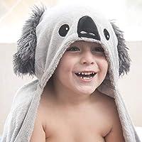 Codibi Hooded Towel for Kids Made of Organic Bamboo with a Cute Koala Design
