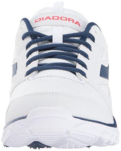 Diadora Heren Hawk 6 Hardloopschoen Wit / Blauw