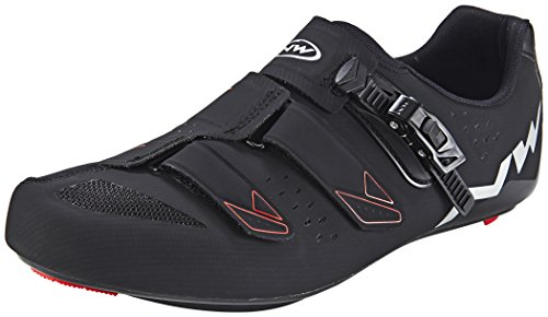 Northwave Hombre Phantom SRS bicicleta guantes Black