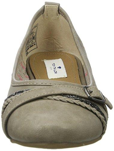 Tom Tailor 279900230, Bailarinas para Mujer Braun (Mud)