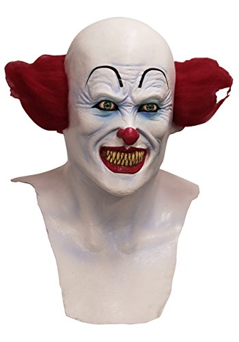 Ghoulish Productions IT Scary Clown (Pennywise Clown Mask Costume)