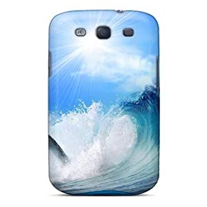 Fashion Tpu Case For Galaxy S3- Playing Dolphin Animals Defender Case Cover by icecream design