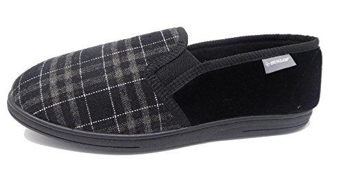 Uomo Woven Lance Black Pantofole Dunlop Uq4wxEPE