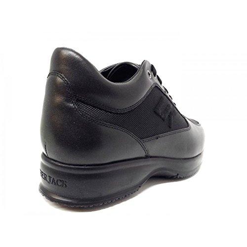 Lumberjack Herren Sneaker Schwarz Schwarz 40 EU, Schwarz - Schwarz - Größe: 39 EU