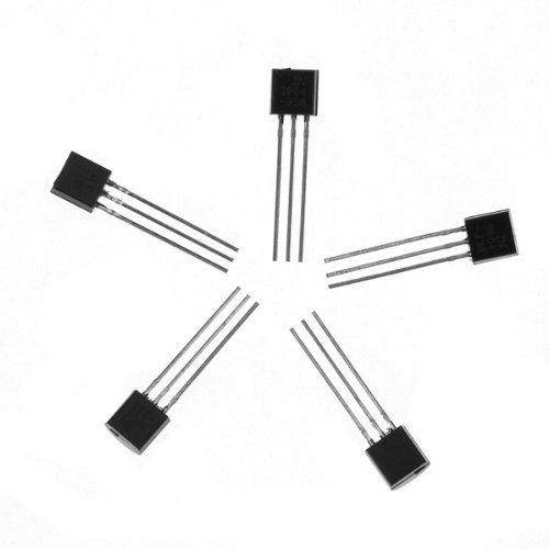 SUNKEE 100Pcs 2N3904 TO-92 NPN General Purpose Transistor