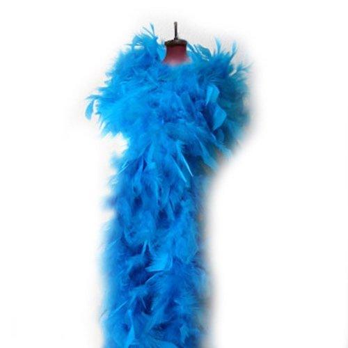 (SACAS Fashion 100g Feather Chandelle Boa 6 feet long in)