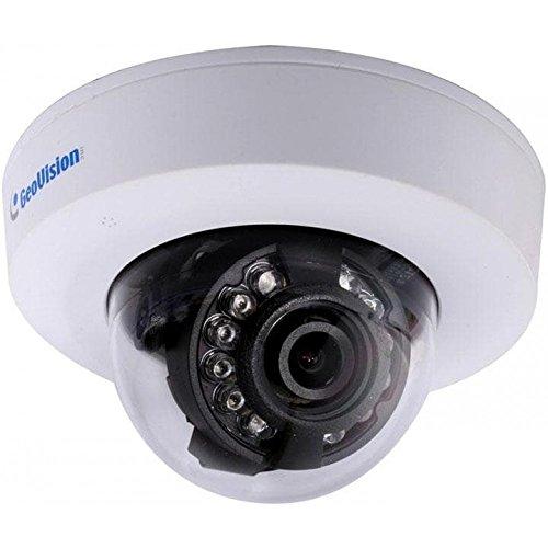 Geovision GV-EFD2100-0F 2MP H.264 Low Lux WDR IR 2.8mm Mini IP Dome Camera (White)
