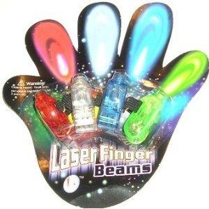 - Laser Finger Beams - 48 ct. box Bright LED finger lights