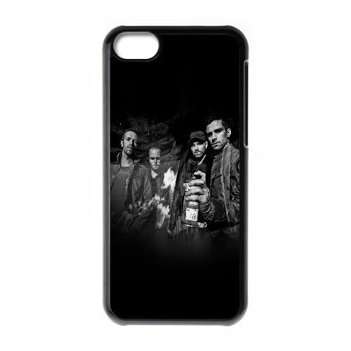 Hd Coldplay Dark Music Band Celebrity plus BA97RJ8 coque iPhone Téléphone cellulaire 5c cas coque B0SQ7C3WI