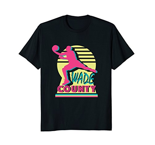 Retro Wade County Miami Basketball T Shirt, men, women